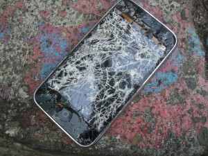 A cracked screen is not just unattractive, it can also be defective.